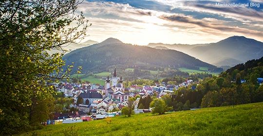Mariazell-Basilika-Fruehling_