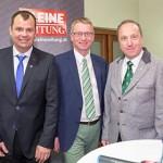 Podiumsdiskussion mit den Spitzenkandidaten der GR-Wahl 2015