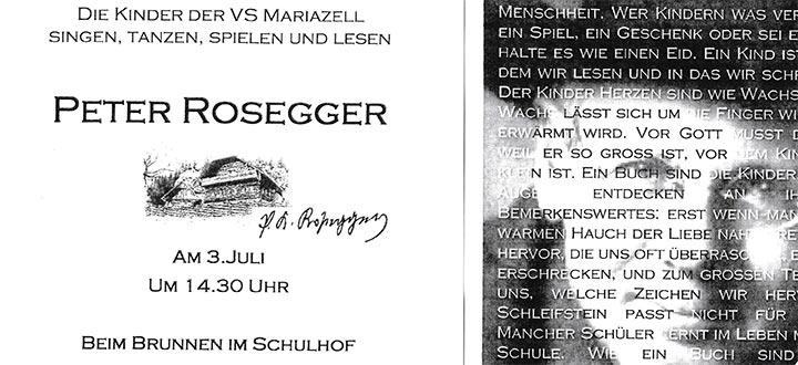 Peter-Rosegger-Schulveranstaltung-Mariazell