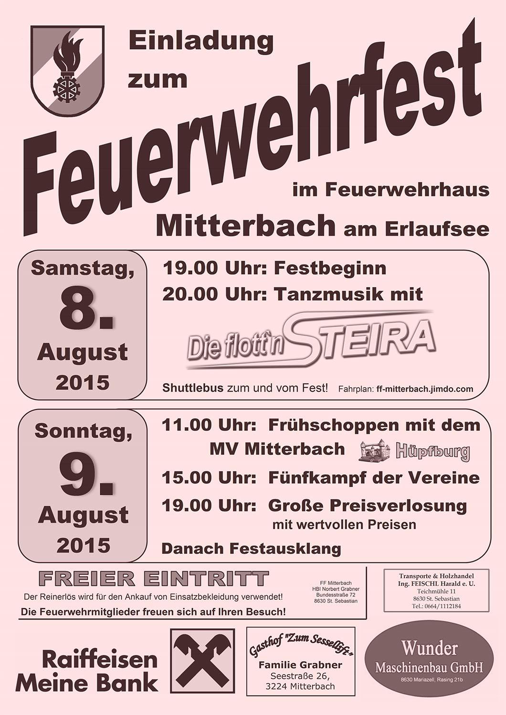 Mitterbach-Feuerwehrfest
