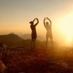 Bild der Woche: Sonnenuntergang am Hochschwab