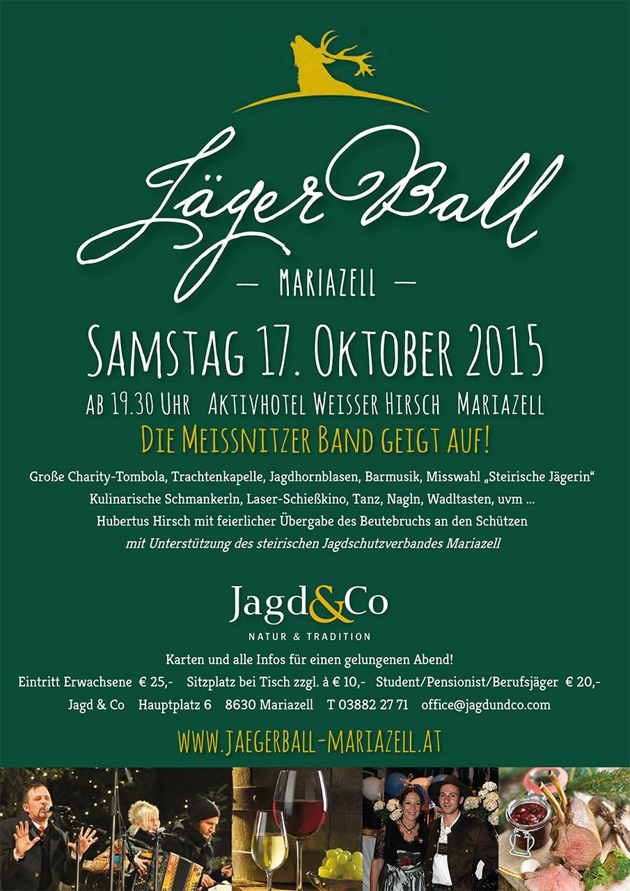 J&C-Jägerball-Mariazell_Poster