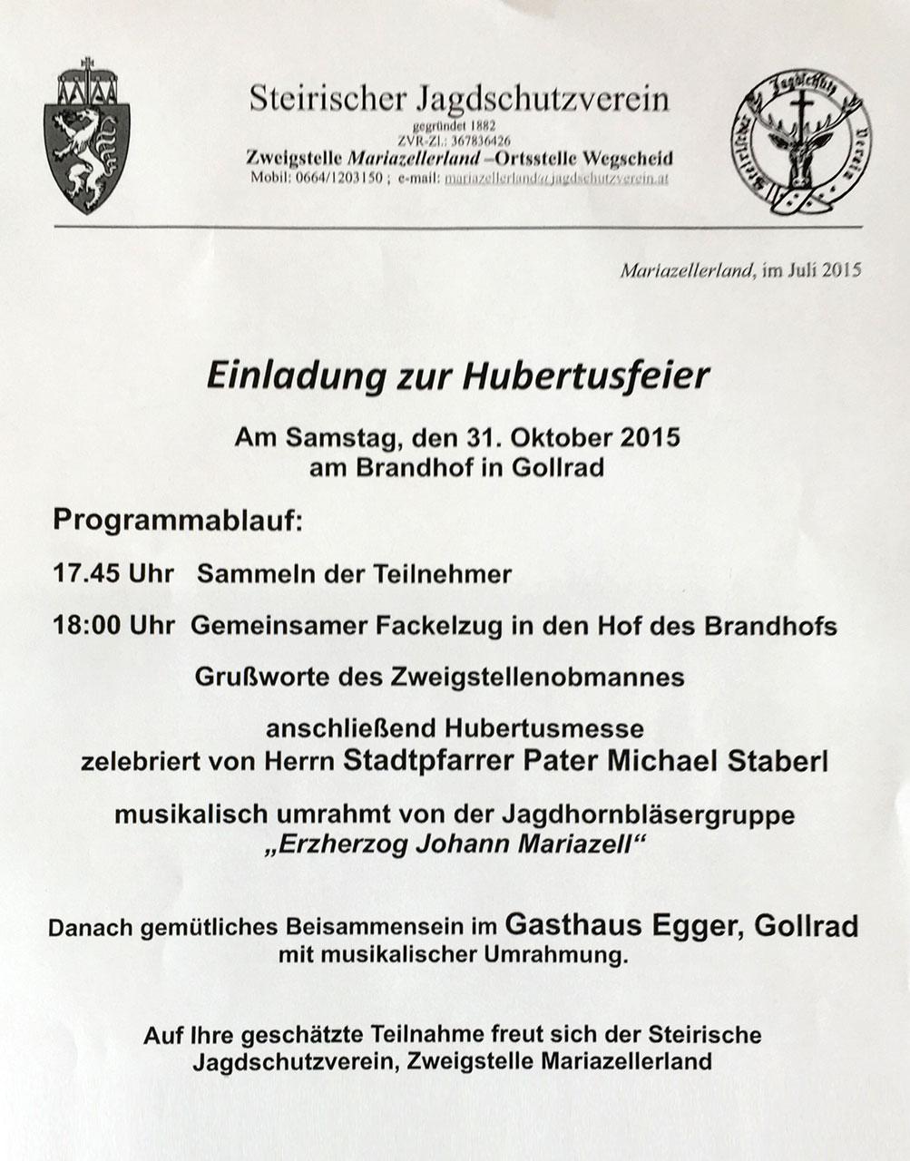 Hubertusfeier-2015-Mariazell