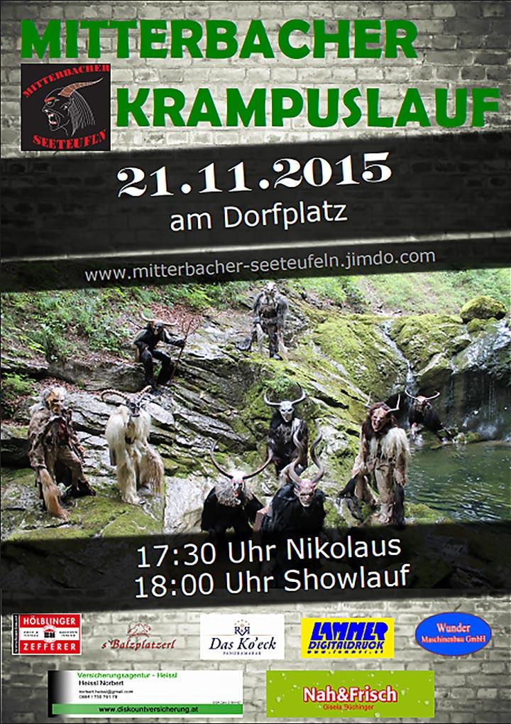 Mitterbacher-Krampuslauf-Plakat