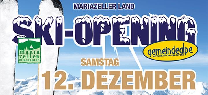Mariazellerland-Skiopening