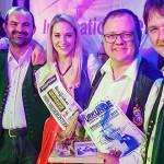 DF4 aus Mariazell gewinnen den Schlagerdiamanten