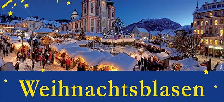 Weihnachtsblasen-Stadtkapelle-Mariazell