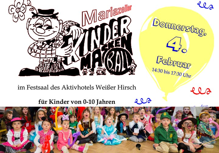 Kindermaskenball-Mariazell