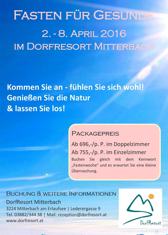 Dorfresort-Fastenwoche