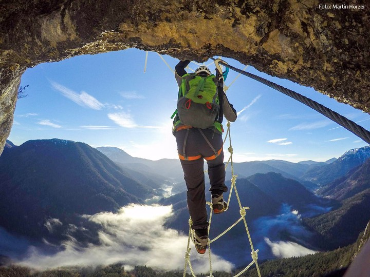 Klettersteig-Spielmauer