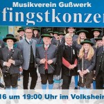 Termintipp: Pfingstkonzert 2016 des Musikvereins Gußwerk