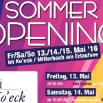 Sommeropening in der Ko'eck Panoramabar