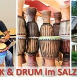 "Trommelkurs ""COOK & DRUM"" mit Ladji Kante im SALZATAL"