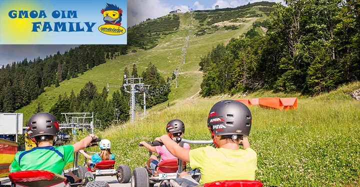 Mountaincart-Gemeindealpe-Gmoa Oim Family