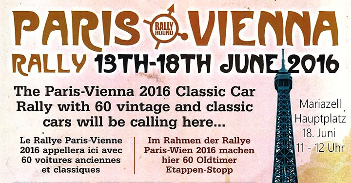 Rally-Paris-Vienna-Mariazell