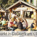 Termintipp: 25. Bauernmarkt in Gußwerk am 1. Okt. 2016