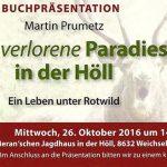 """Buchpräsentation """"Das verlorene Paradies in der Höll"""""""