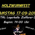 Holzwurmfest in Halltal