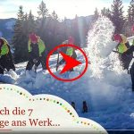 Mariazeller Bürgeralpe - Schneezwerge bei der Arbeit