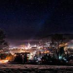 Bild der Woche: Mariazell Blick mit Sternenhimmel
