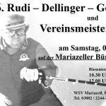 Einladung zum 6. Rudi Dellinger Gedenklauf