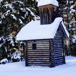 Bild der Woche: Hölzerne Barbarakapelle bei Weichselboden