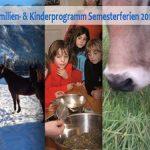 Ferien- und Kinderprogramm – 05. bis 10. Februar 2017
