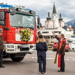 FF Mariazell - Fahrzeugsegnung - HLF2 - Fotos