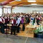 Bezirkssingen Volksheim Gußwerk – Fotobericht