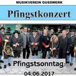 Termintipp: Pfingstkonzert 2017 des MV Gußwerk