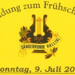 Termintipp: Frühschoppen Sängerrunde Halltal