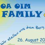Termintipp: GMOA OIM FAMILY 2017