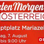 """""""Guten Morgen Österreich"""" ORF live aus Mariazell"""