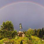 Bild der Woche: Erzherzog Johann mit Regenbogen