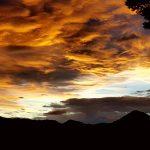 Bild der Woche: Abendhimmel über Mariazell