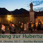 Einladung zur Hubertusfeier 2017