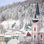 """Bild der Woche: Mariazell """"Winterblüte"""""""