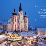 Frohe Weihnachten wünscht mariazell.blog