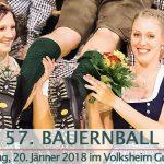 Termintipp: 57. Mariazeller Bauernball – 20. Jän. 2018