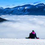 Bild der Woche: Bürgeralpe - Blick auf das Nebelmeer