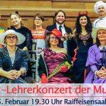 Termintipp: Faschings-Lehrerkonzert der Musikschule