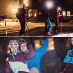 Nachtrodeln & Skitourenabend auf der Mariazeller Bürgeralpe – Fotos