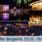Mariazeller Bergwelle 2018 - Programm
