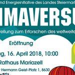 KLIMAVERSUM – Ausstellungseröffnung im Rathaus Mariazell