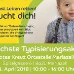 Typisierungsaktion/Leukämiehilfe | Rotes Kreuz Mariazell
