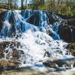 Wasserfall in Hofamt und Salzaklamm Rundweg