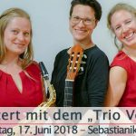 "Termintipp: Konzert mit dem ""Trio Verve"""