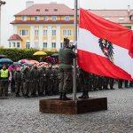 Angelobung & Kranzniederlegung in Mariazell
