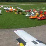 Gyrocopter-Piloten machten Station am Flugplatz Mariazell