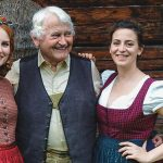 Lena Hoschek Kollektionsshooting in Mariazell